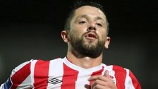 Rory Patterson was on target for Derry City