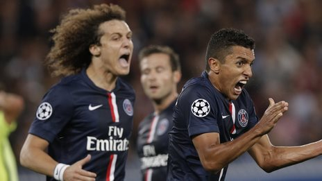 PSG shocked Barcelona by beating them 3-2