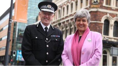 Sir Jonathan Murphy and Jane Kennedy