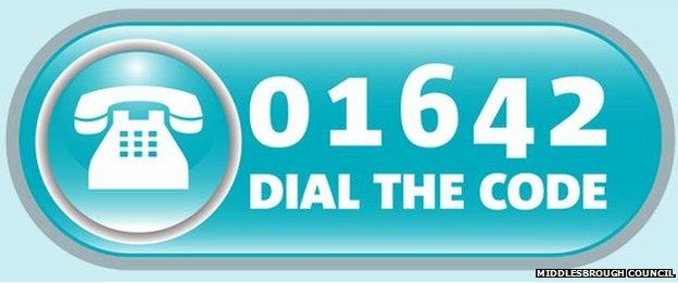 Dial the code logo