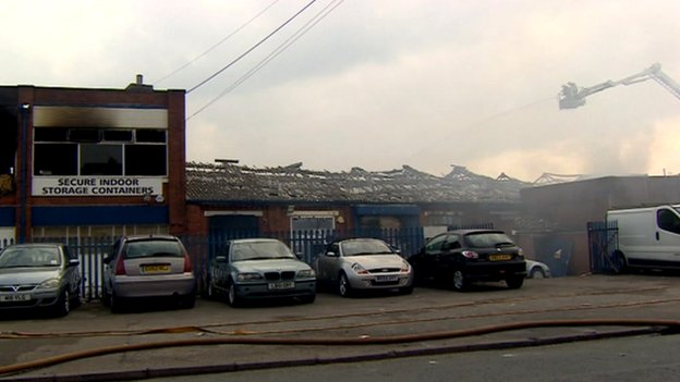 Tyseley warehouse fire