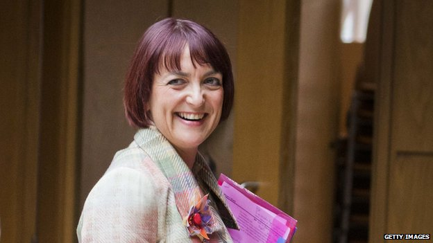Scottish Youth Employment Secretary Angela Constance