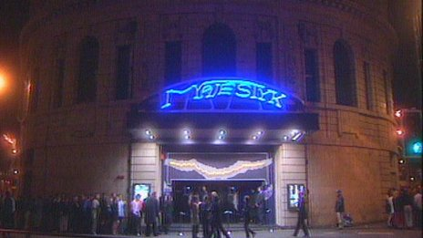 Majestyk nightclub in 2000