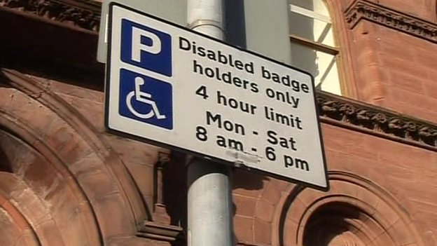 disabled badges how to get one