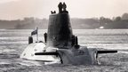 HMS Astute is based at Faslane