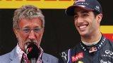 Eddie Jordan and Daniel Ricciardo