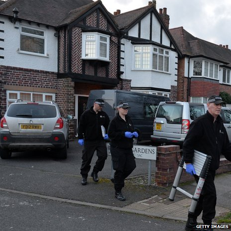 Police search home in Hall Green, Birmingham