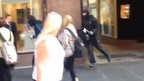 Raiders flee Argyll Arcade