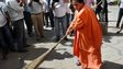Water Resources minister Uma Bharti