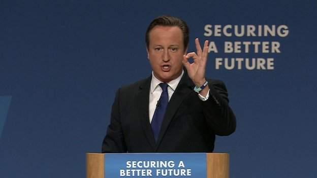 David Cameron promises to raise the income tax threshold