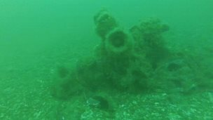 Wreckage found in the sea off Mablethorpe