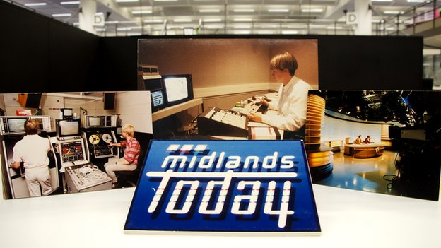 BBC Midlands Today photos from the 1990s