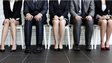 people waiting for a job interview (stock image)
