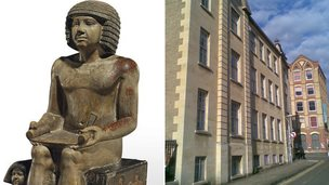 Sekhemka statue and Northampton Museum and Art Gallery