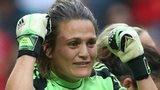 German goalkeeper Nadine Angerer