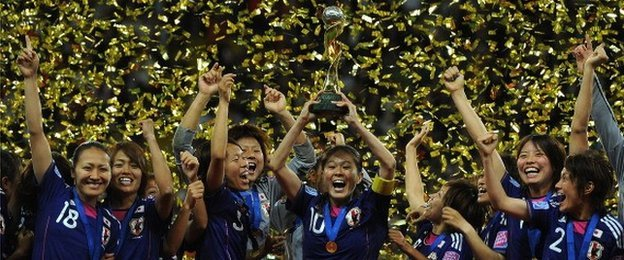 Japan won the 2011 Women's World Cup in Germany