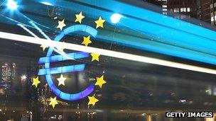 Eurozone sign
