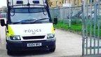Thames Valley Police van