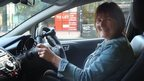 U-turn over one-armed driver permit