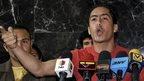 A file photo from 4 March 2008 showing Venezuelan National Assembly member Robert Serra