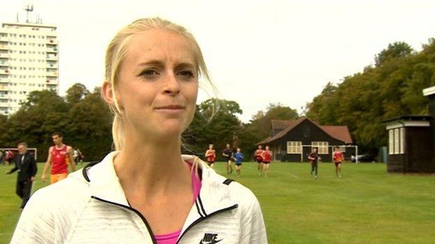 Runner, Hannah England