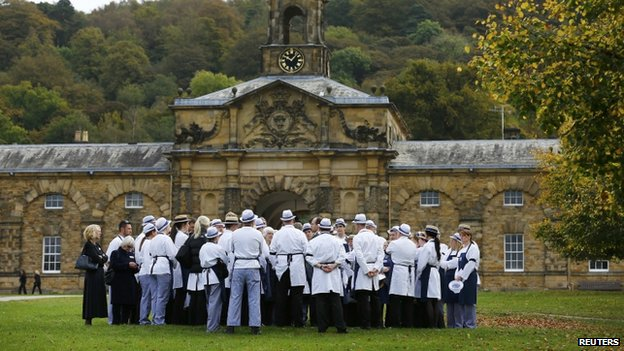 Butchers at Chatsworth