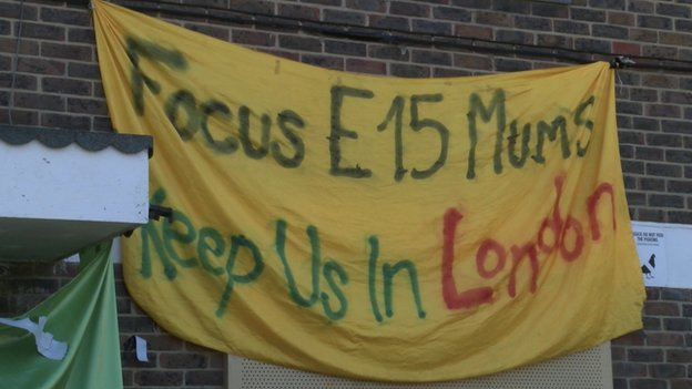 Focus E15 banner