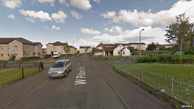 The man was assaulted in the West Pilton area