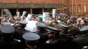 Poll tax protest