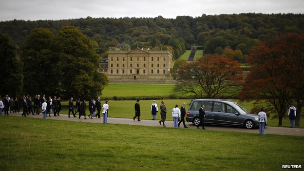 Hearse at Chatsworth
