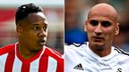 Nathaniel Clyne and Jonjo Shelvey