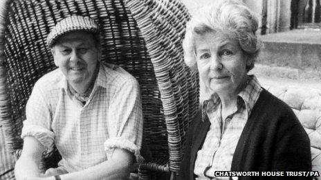 The Duke and Duchess of Devonshire in 1980
