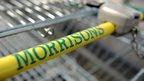 Morrisons shopping trolley