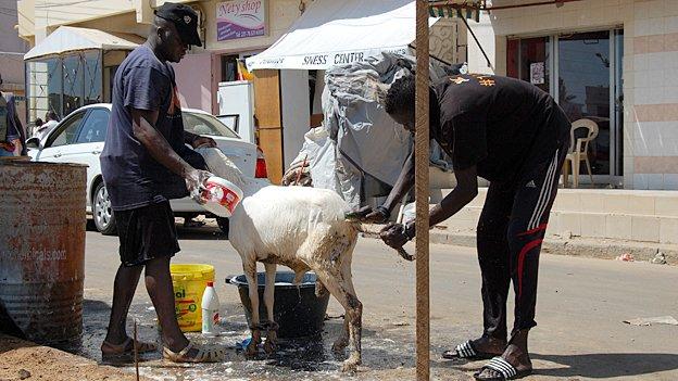 Washing the ram