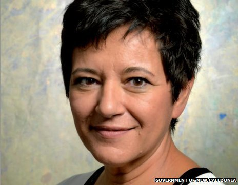 Publicity photo of New Caledonia President Cynthia Ligeard