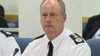 Chief Constable George Hamilton outlined the impact of the cuts to the Policing Board