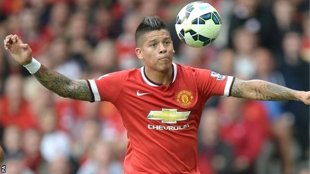 BBC Sport - Manchester United: Sporting reveal Marcos Rojo sale ...