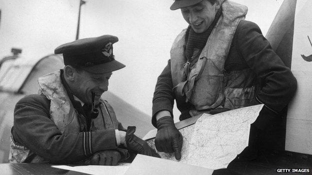 RAF airmen in 1939