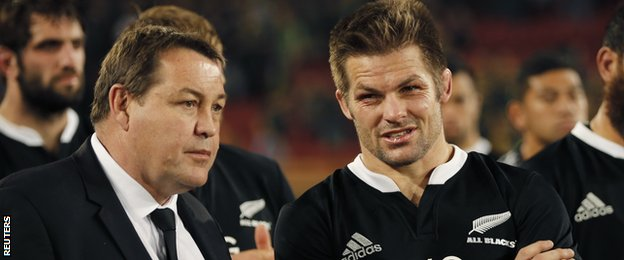 New Zealand's Richie McCaw