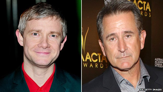 Martin Freeman (left) and Anthony LaPaglia