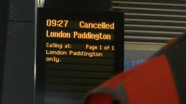 Signalling problems at Slough cause rail delays