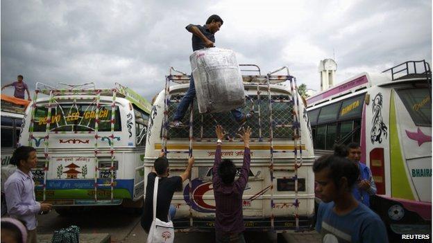Nepal bus crash kills 29 people and injures dozens - BBC News
