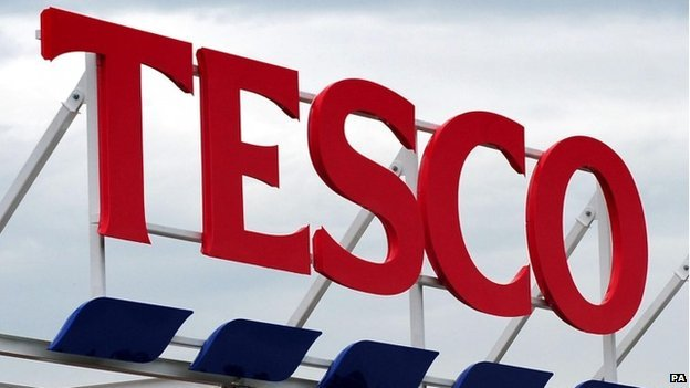 Suspended Tesco boss leaves company...