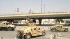 Heightened security in Baghdad on 27 September 2014