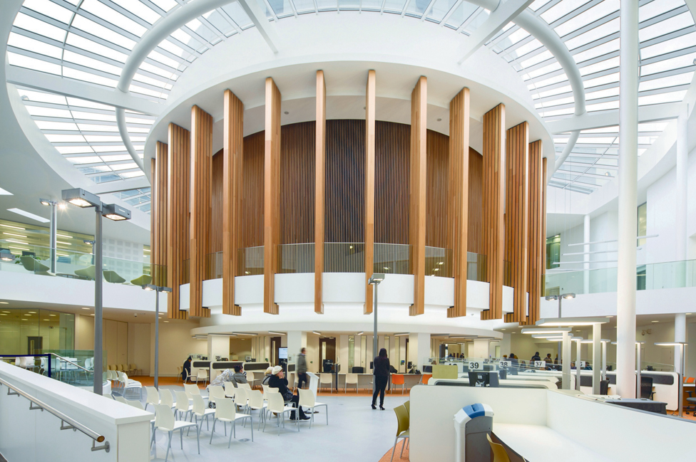 Futures forum knowle relocation project designs for a for Office design derby