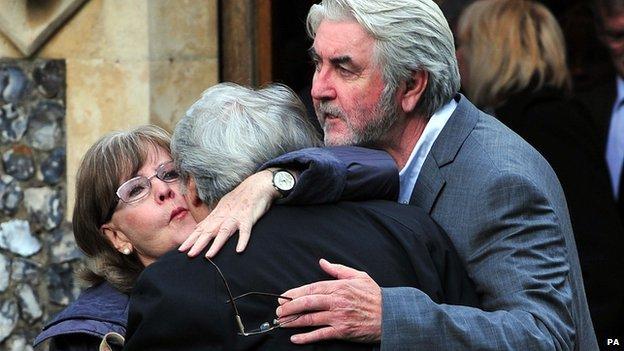 Pauline Collins. Tom Conti and John Alderton