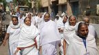 A happy homecoming for India's widows