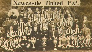 Newcastle United in 1914