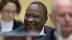 Kenya crowds hail Kenyatta after ICC
