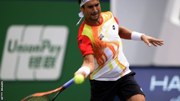 BBC Sport - Andy Murray loses to David Ferrer in Shanghai